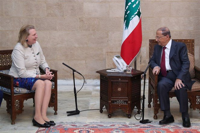 الرئيس عون استقبل وزيرة الشؤون الخارجية النمساوية: لبنان سيواجه اي اعتداء اسرائيلي ضد سيادته