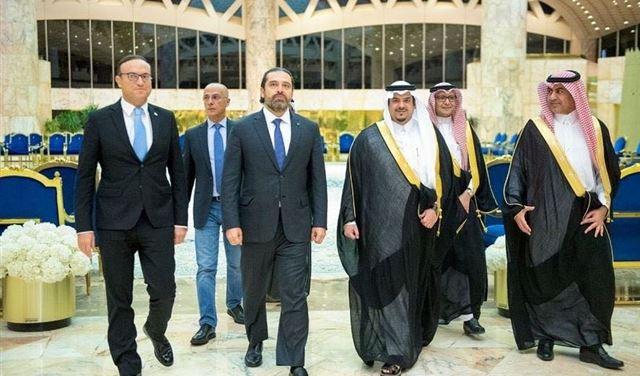 الحريري في الرياض