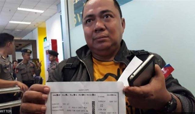 قصة إندونيسي نجا من كارثة الطائرة المنكوبة