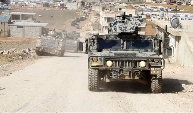 عملية واسعة للجيش في جرد عرسال