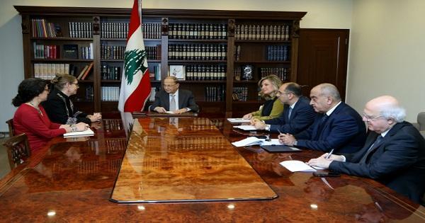 الرئيس عون: لبنان ينتظر تقارير اليونيفيل حول الانفاق وملتزم القرار 1701 بحرفيته