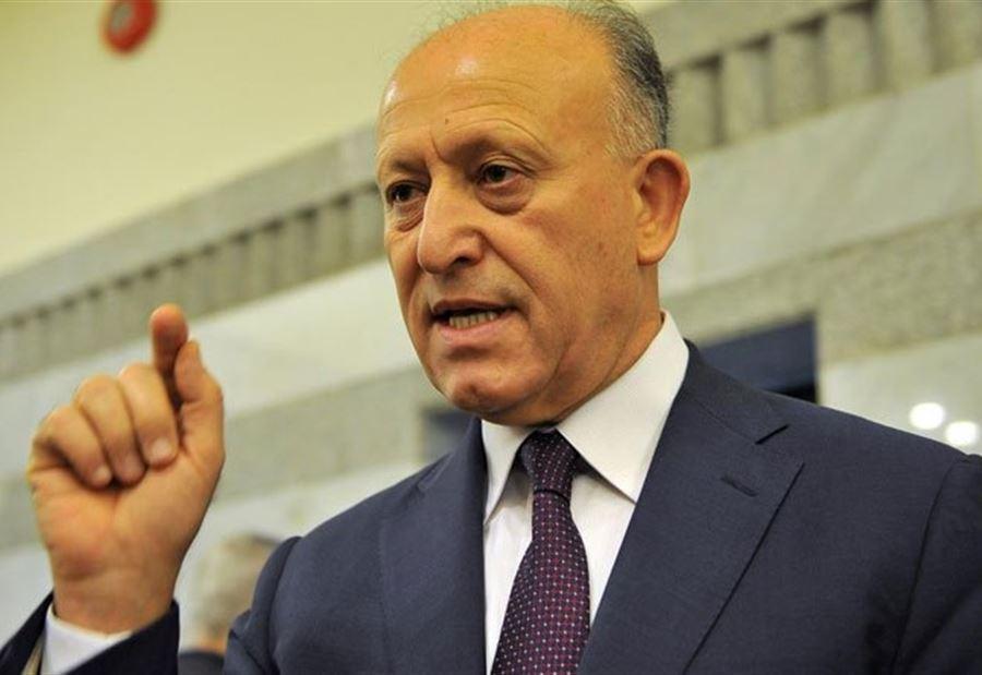 ريفي: لإقالة باسيل والوزراء الذين وقعوا له الإستقالة