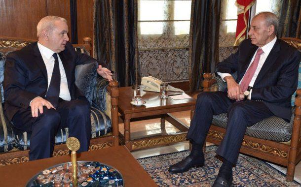 دولة الرئيس الياس المر من عين التينة: إذا سقط البلد فسيسقط على رؤوس الجميع