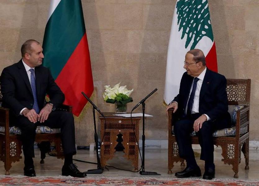 عون بعد لقائه نظيره البلغاري: لتطبيق 1701 ووقف الخروقات