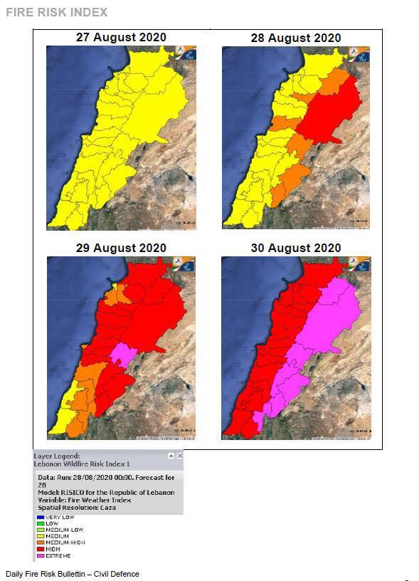كتل حارّة مصدرها الخليج ستسيطر على لبنان... و