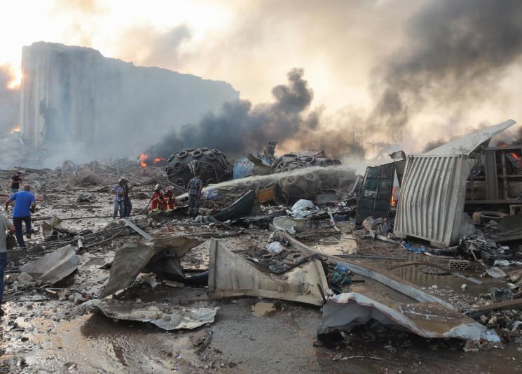 كم بلغ عدد المفقودين المتبقي جراء انفجار مرفأ بيروت؟